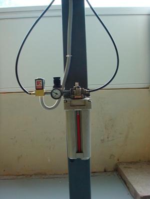 натяжное устройство цепи привода конвейера